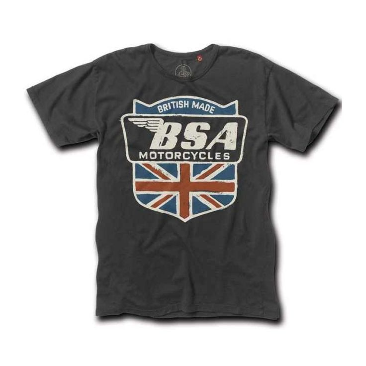 Last Match Co T Shirt - BSA Shield - THE CAFE RACER | FREE UK DELIVERY. Biker  ShirtsTee ShirtsMotorcycle ...