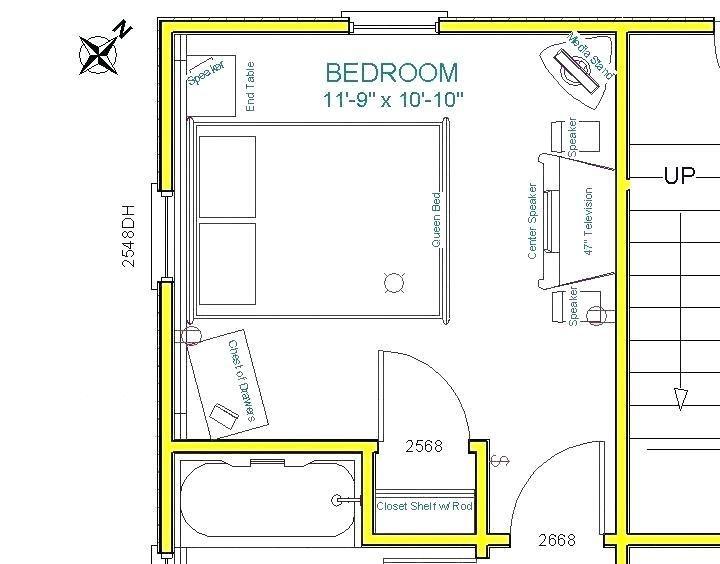 Feng Shui Bedroom Furniture Placement Bed Orientation Bedroom