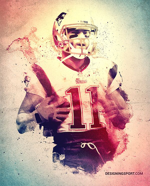 Julian Edelman, New England Patriots — 'True Patriots' Poster Series