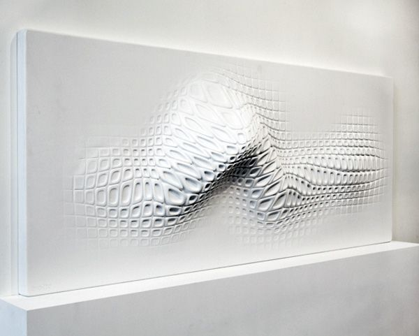 Wall Sculpture Made for Touch  /Designer: Ora-ïto