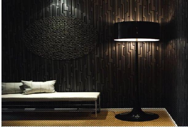 Die besten 25 black textured wallpaper ideen auf for Schwarze mustertapete