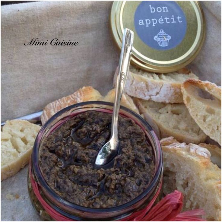 Tapenade olives noires #Thermomix - Mimi Cuisine