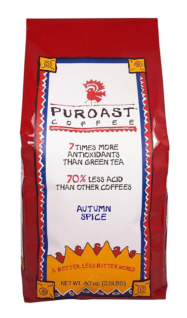 Puroast Low Acid Coffee Autumn Spice Whole Bean * Check this awesome product by going to the link at the image.