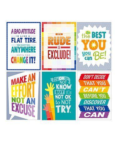 Look what I found on #zulily! Inspire U Poster Pack #zulilyfinds