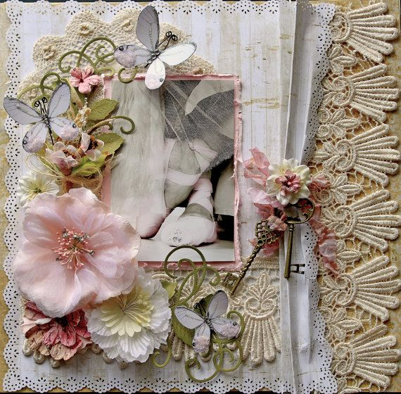 Poise Premade Scrapbook Page 12 x 12 Vintage  Shabby Chic  Wedding  Art 89 best Wedding scrapbook images on Pinterest   Scrapbooking  . Premade Wedding Scrapbook. Home Design Ideas