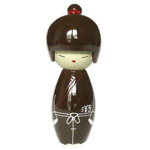 Figurine Kokeshi Toa en résine - Yoco