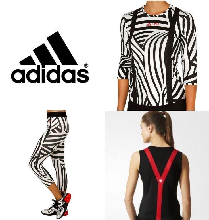 adidas Y-3-Roland Garros' 2016 collection-ClimaLITE Shirt/Tank/Leggings-Medium #adidasY3