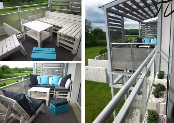 Pallet Furniture Ideas for the Outdoor   99 Pallets