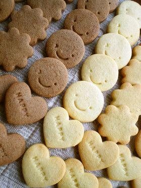 簡単★サクッと♪基本の型抜き クッキー by 田んぼイネ [クックパッド] 簡単おいしいみんなのレシピが236万品