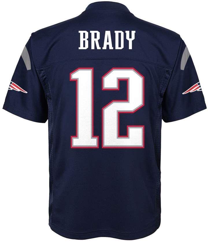Boys 8 20 New England Patriots Tom Brady Replica Jersey Tom Brady New England Patriots Jersey