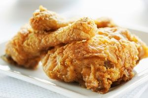 This lightened up version of Southern fried chicken has all the same great flavor without all the carbs!: Low Carb, Chicken Recipe, Garlic Chicken, Southern Fried Chicken, Baking Chicken, Gluten Free, Healthy Recipe, Recipe Finder, Lowcarb Southern