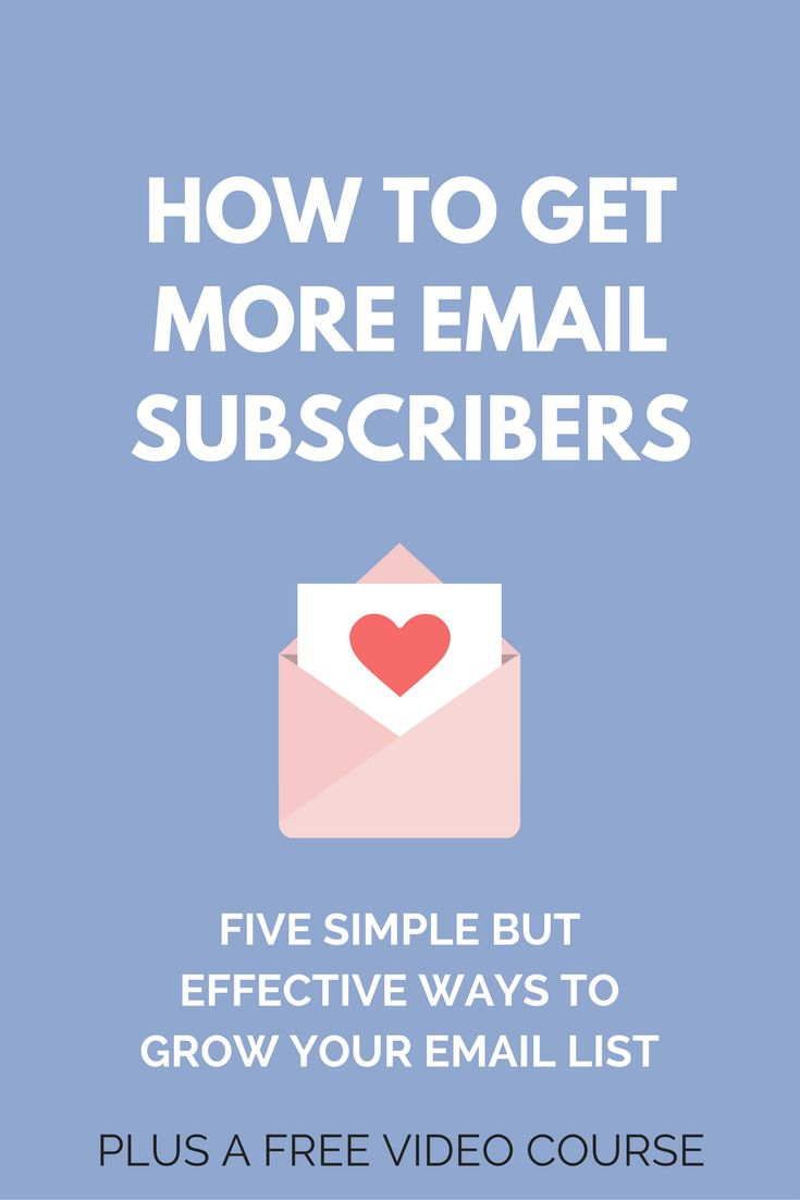 How to get more email subscribers from your website. Some simple but effective strategies to build your email list & get more subscribers  via @creativencoffee