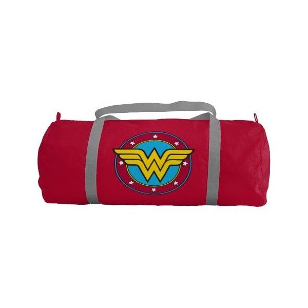 Wonder Woman Circle Amp Stars Logo Gym Duffle Bag 58 Aud