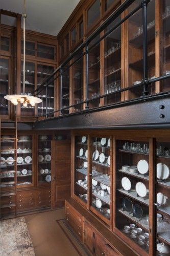 biltmore estate kitchen | The pantry at The Biltmore Estate, Asheville, NC. The home opened on ...