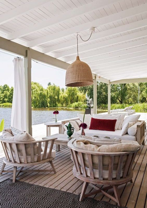 25 Exhilaratingly Beautiful Outdoor Living Room Ideas On A Budget Patio Pinterest Casas Decoracion Terraza And Hogar