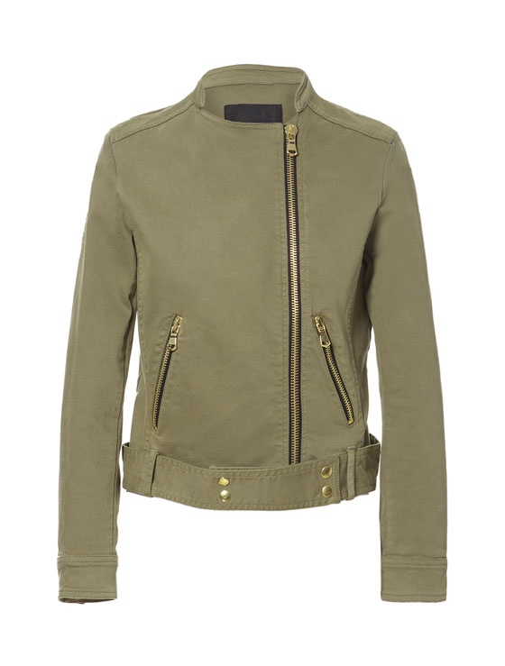 COTTON JACKET WITH ZIPS - Blazers - Woman - ZARA United States