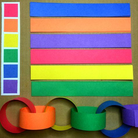 Радуга цепи Тонкая двигательная активность Для детей дошкольного и детский сад
