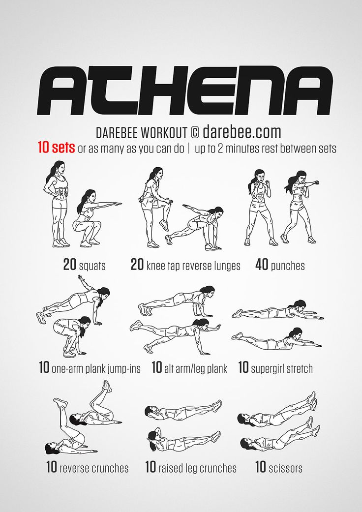 Athena Workout use to be called supergirl