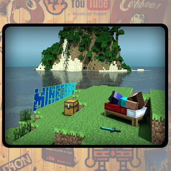NEW Custom : Minecraft Creeper Games Large Fleece Blanket By Gift Ideas #06
