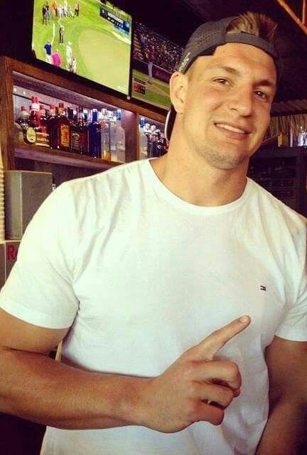 Yes Gronk we know you are number 1 big guy. Hot sexy man