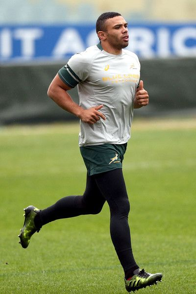 Bryan Habana of South Africa during the South Africa captain's run during the captains run at Artemio Franchi on November 18, 2016 in Florence, Italy.