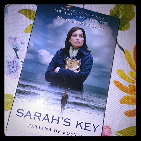 Sarah's Key by Tatiana De Rosnay Paperback, now a movie Sarah's Key  Other
