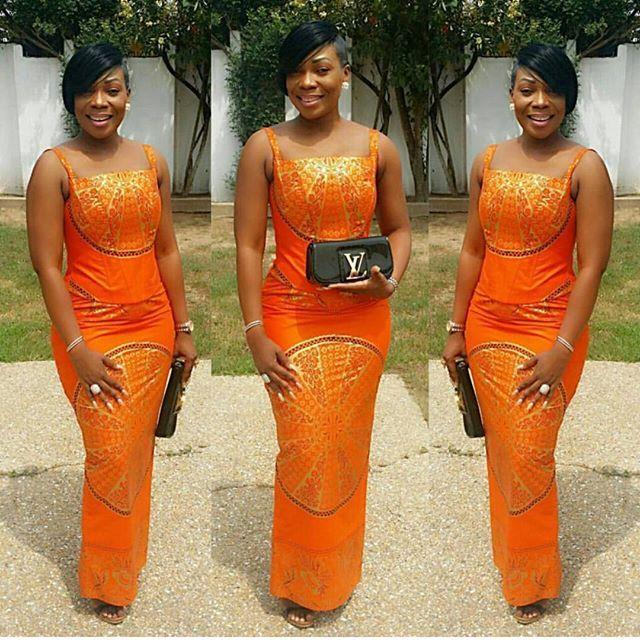 Of Kaba And Slit @ammaantwiwaa #stylecapitalgh #weddings