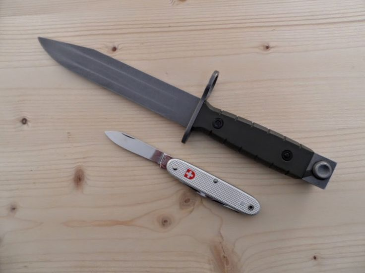 Swiss Army Bayonet Wenger 90 Amp Wenger Soldier Mod 61