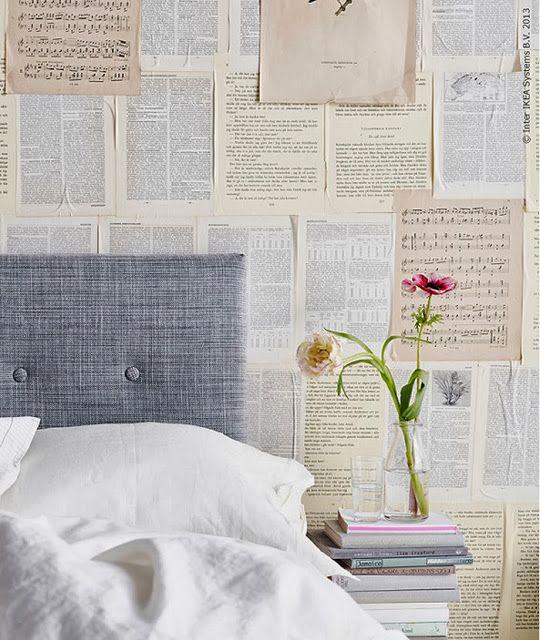 decoracion facil tres ideas para reutilizar paginas de libros viejos