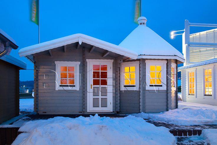 ber ideen zu blockhaus gartenhaus auf pinterest. Black Bedroom Furniture Sets. Home Design Ideas