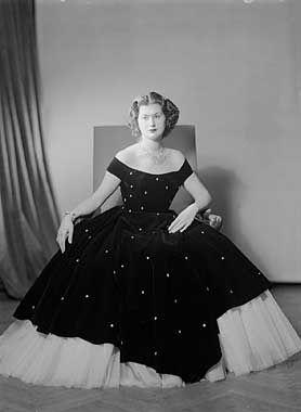 Portrait de la Princesse Hanzade Sultan (1923, İstanbul – 1998, Paris)