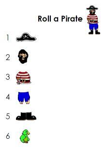 roll-a-pirate game