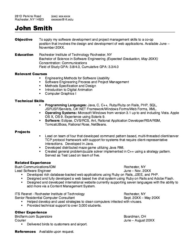 Awesome Programmer Resume Sample - Http://Resumesdesign.Com