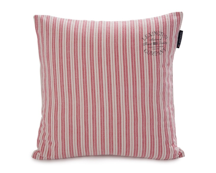 Cottage Collection Ticking Sham, Rose Stripe
