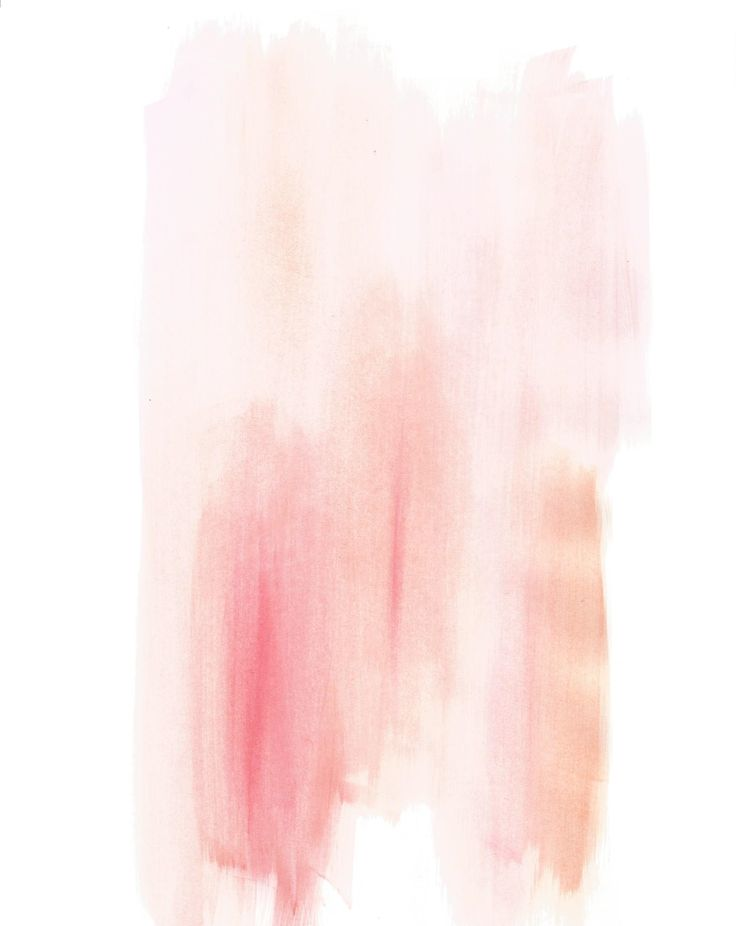 Orangey Pink Watercolor Background