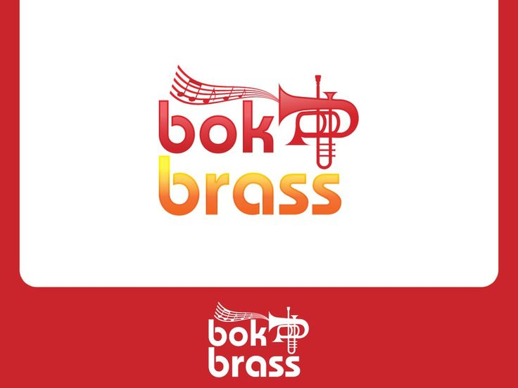 Create a fun logo for the bok brass quintet by jitwo99