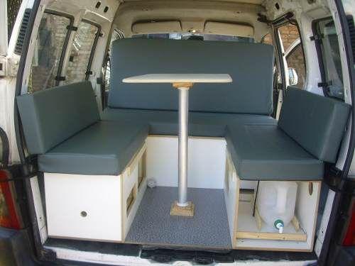 Mini Camper Para Partner, Berlingo Y Kangoo - $ 9.800,00