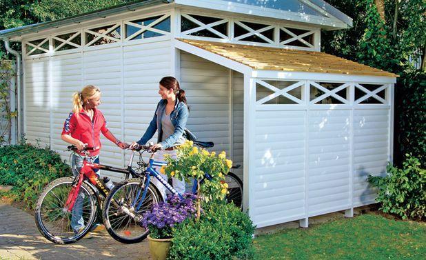 die besten 25 bikeport ideen auf pinterest bike garage fahrrad werkzeug aufbewahrung und. Black Bedroom Furniture Sets. Home Design Ideas