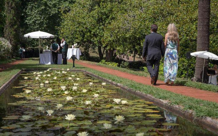 After ceremony cocktails in Palheiro Gardens http://www.yourmadeirawedding.com/directory/casa-velha-do-palheiro
