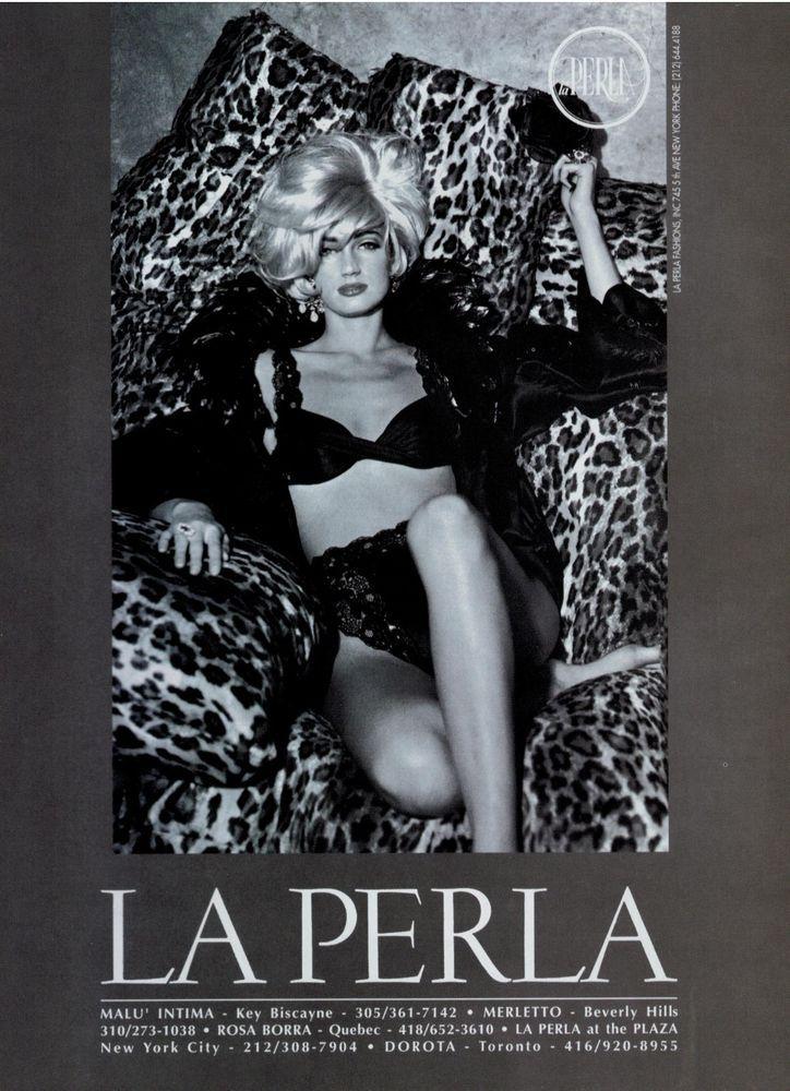 1996 HANES Resilience HOSIERY   Sheer   VENDELA KIRSEBOM Nude   Print Ad