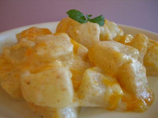 Scalloped Turnips Recipe - Cheese.Food.com