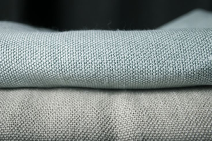 Close up on Amsterdam from Astrid  - a heavy upholstery linen. The surface is slightly shiny and shifting from the washing.