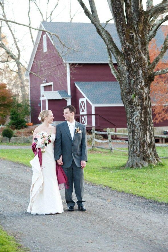 Winter Barn Wedding: Megan   Mike