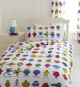 Mr Men bedding from Marks & Spencers - I loved these stories!