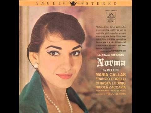 La Scala presents NORMA. Opera in four acts by Vincenzo Bellini. Libretto by Felice Romani. Based on the play by Alexandre Soumet. Norma - MARIA CALLAS sopra...