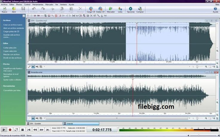 Free Download Software WavePad Sound Editor 6.30 - filebigg.com