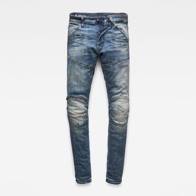 5620 G Star Elwood 3D Zip Knee Super Slim Jeans | Jeans