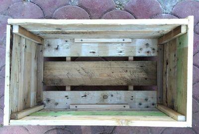 Créer une jardinière avec une palette de bois, #…