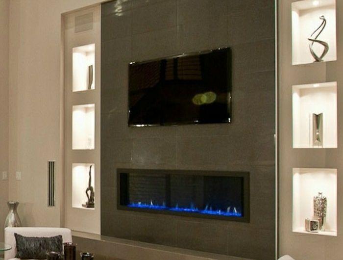 Bio Ethanol Kamin Modern Wohnzimmer Einbauen