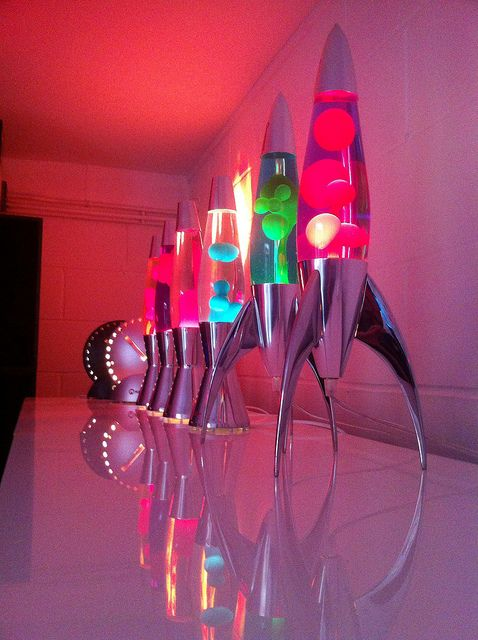Mathmos Lava Lamp factory.
